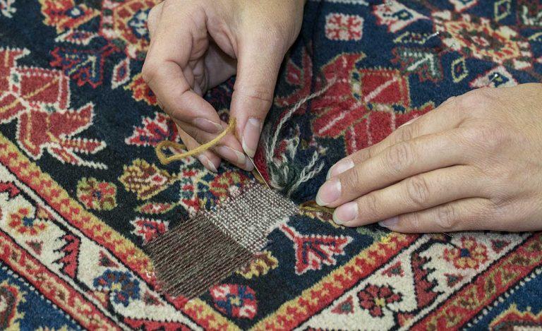 آنچه باید درباره رفوگری فرش بدانید