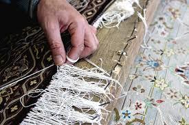ترمیم و ریشه دوزی فرش و قالی