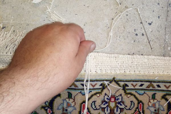 Restoration of the root of the carpet
