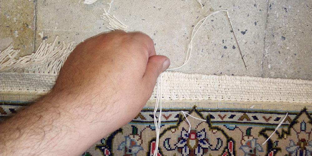ریشه دوزی فرش چیست و چگونه انجام می شود؟