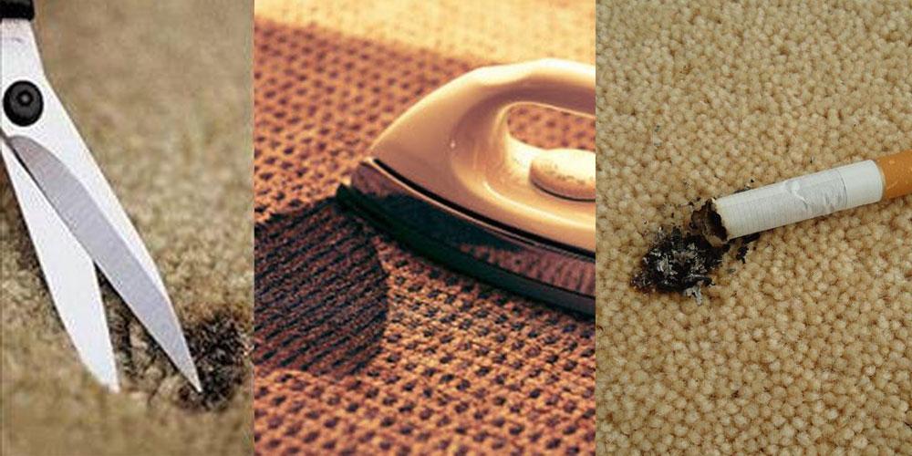 ترمیم سوختگی فرش
