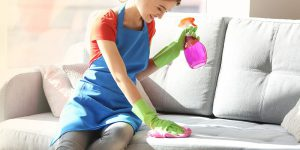Washing the furniture at home