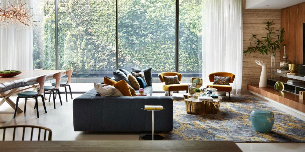 ست کردن فرش با مبل یا پرده؟