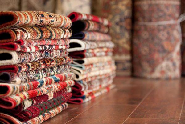 Handmade carpet tips