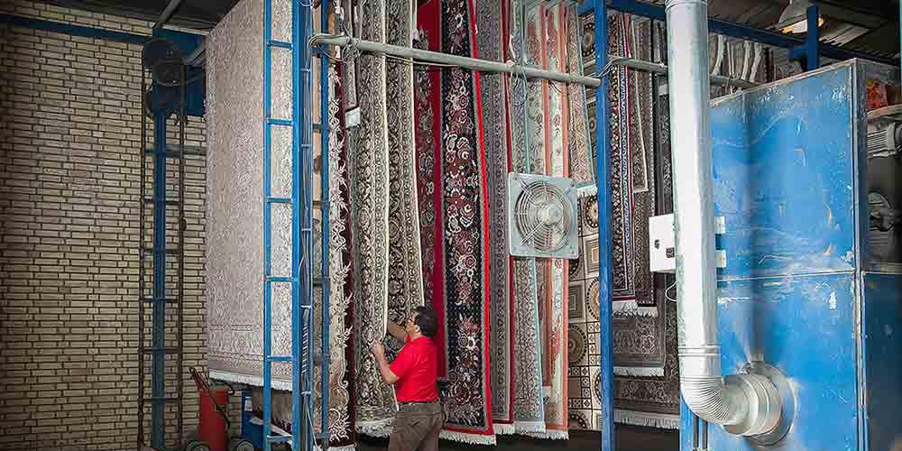 ویژگی های یک قالیشویی مدرن