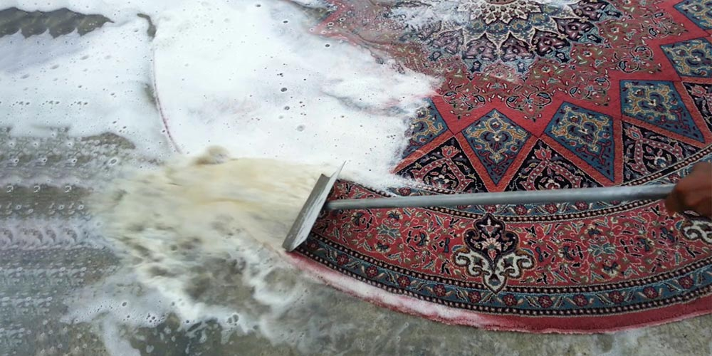 Carpet wash with religious principles