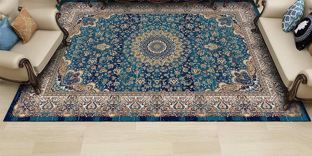 مقایسه فرش و کفپوش در دکوراسیون خانه