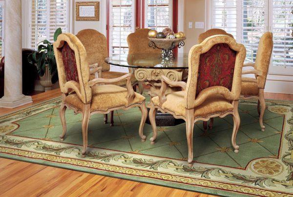 انتخاب فرش مناسب برای اتاق ها قاعده و اصولی دارد