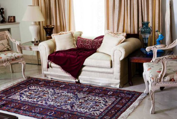 Home design with carpet