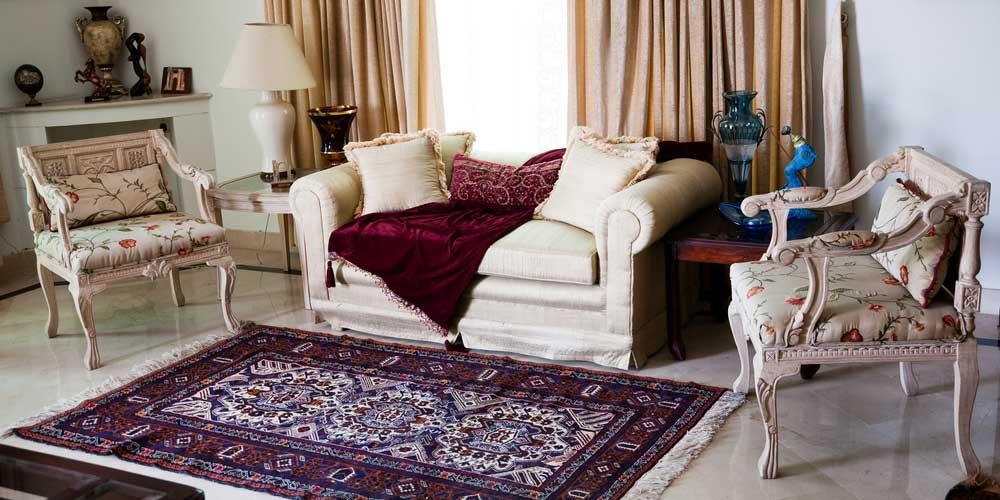 Home design with carpet