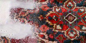 Carpet care is handmade