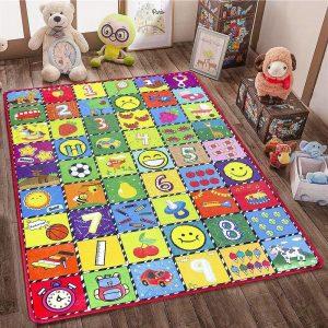 خرید فرش برای اتاق کودک - قالیشویی نوین