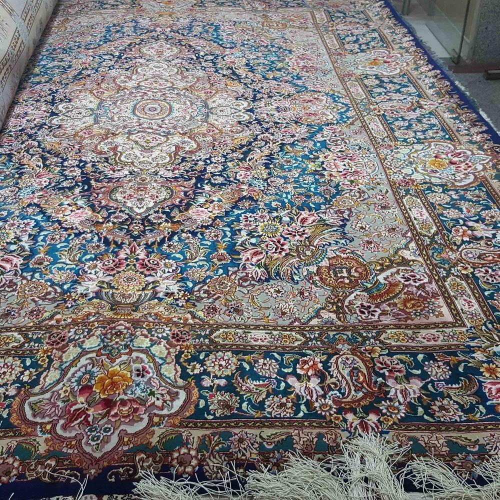 فرش دستباف ابریشم - قالیشویی نوین