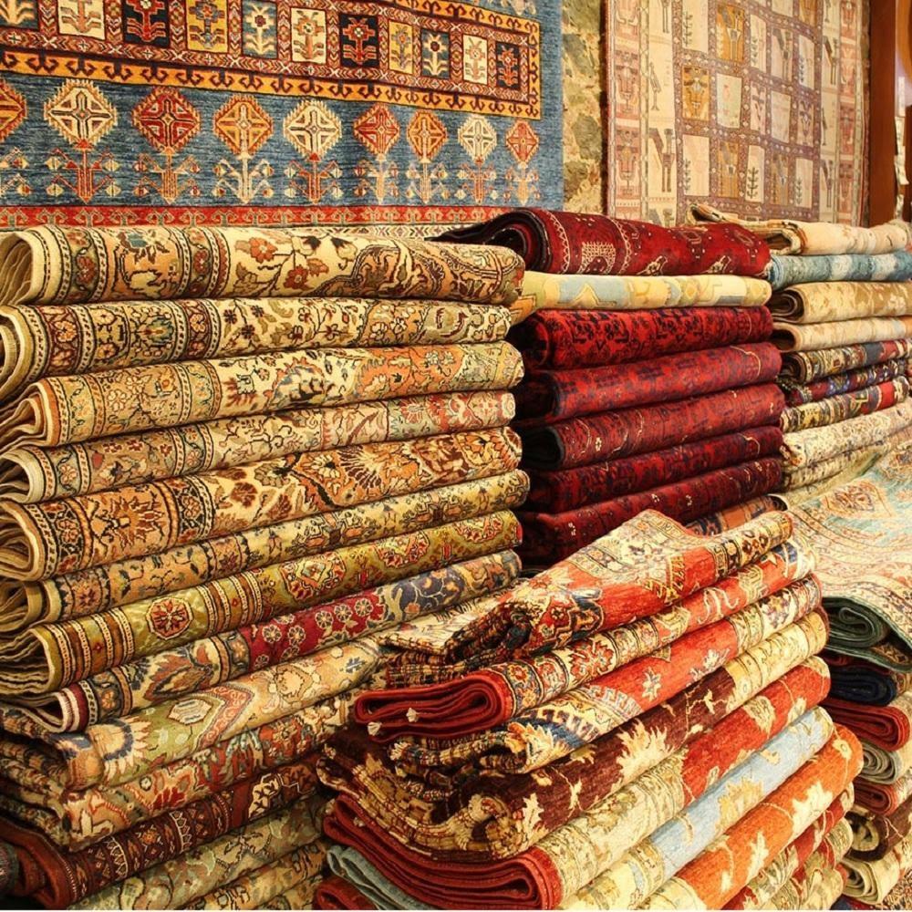 فرش دستباف زربفت - قالیشویی نوین
