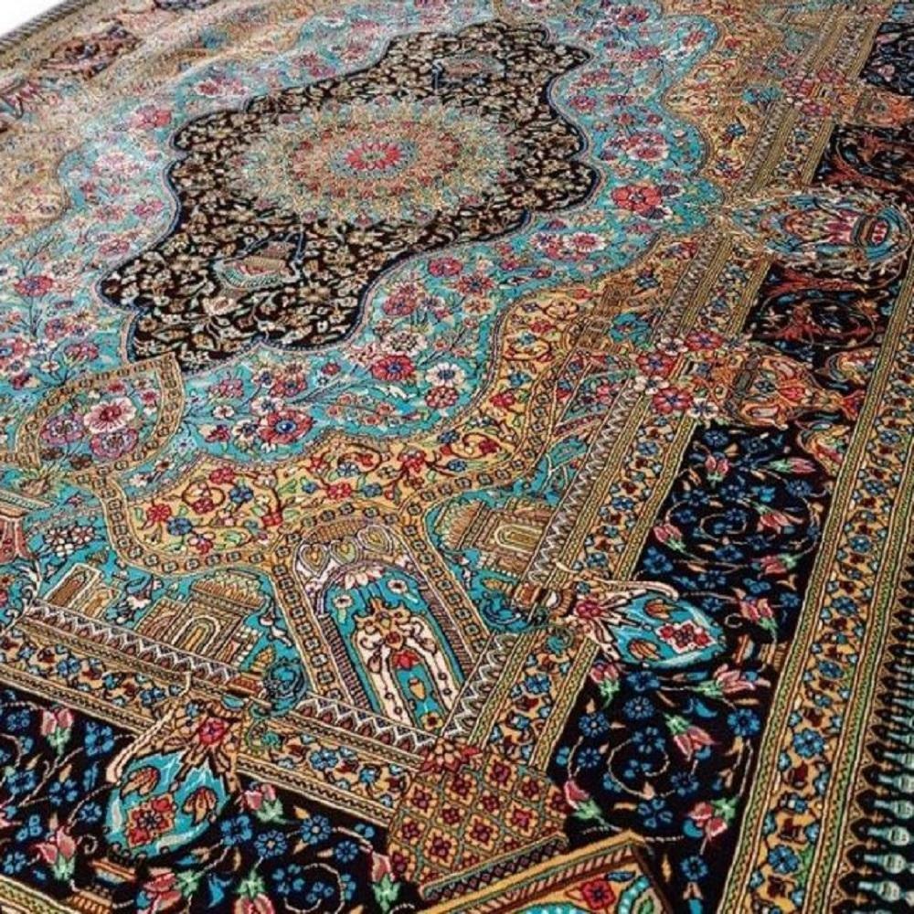 فرش دستباف چله ابریشم - قالیشویی نوین