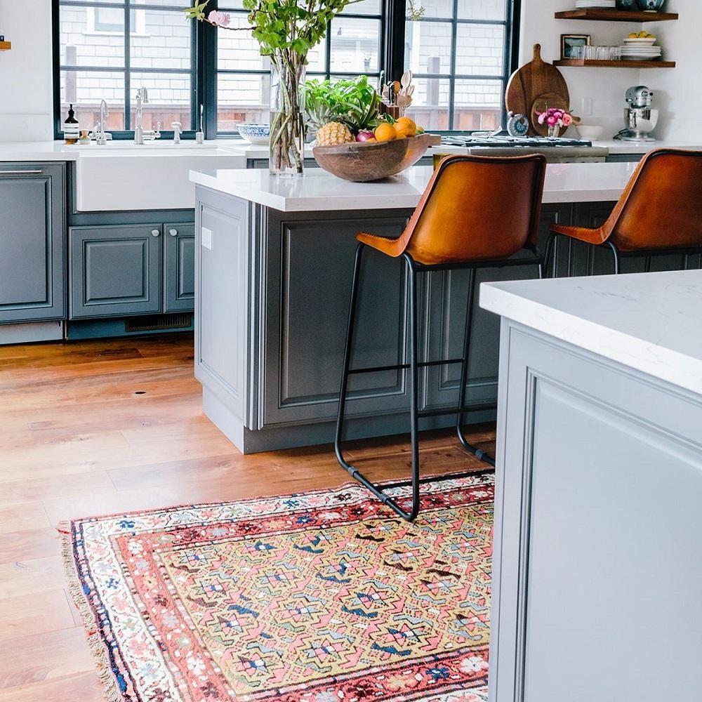 دکوراسیون فرش آشپزخانه - قالیشویی نوین