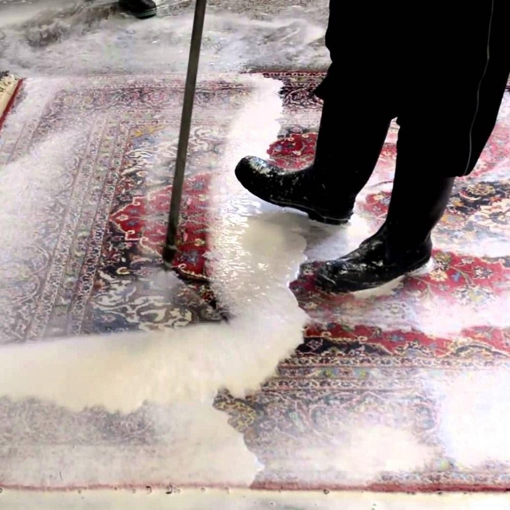 شستن فرش آشپزخانه - قالیشویی نوین