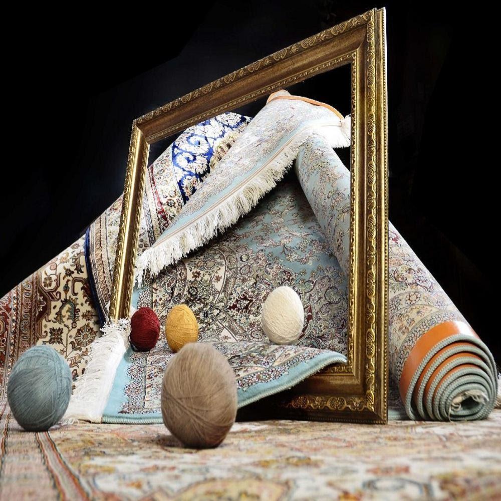 شستن تابلو فرش در قالیشویی - قالیشوی