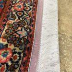 تمیز کردن ریشه فرش دستباف