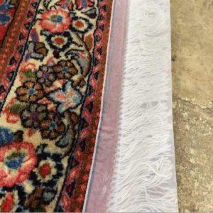 شستن ریشه فرش در قالیشویی - قالیشویی نوین