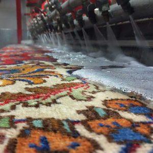شستن فرش ابریشم