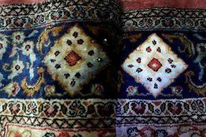 رنگ پس دادن فرش
